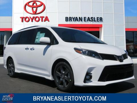 New 2018 Toyota Sienna SE 2WD FWD 8 PSGR